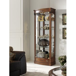 Canora Grey Elbert Glass Door China Cabinet