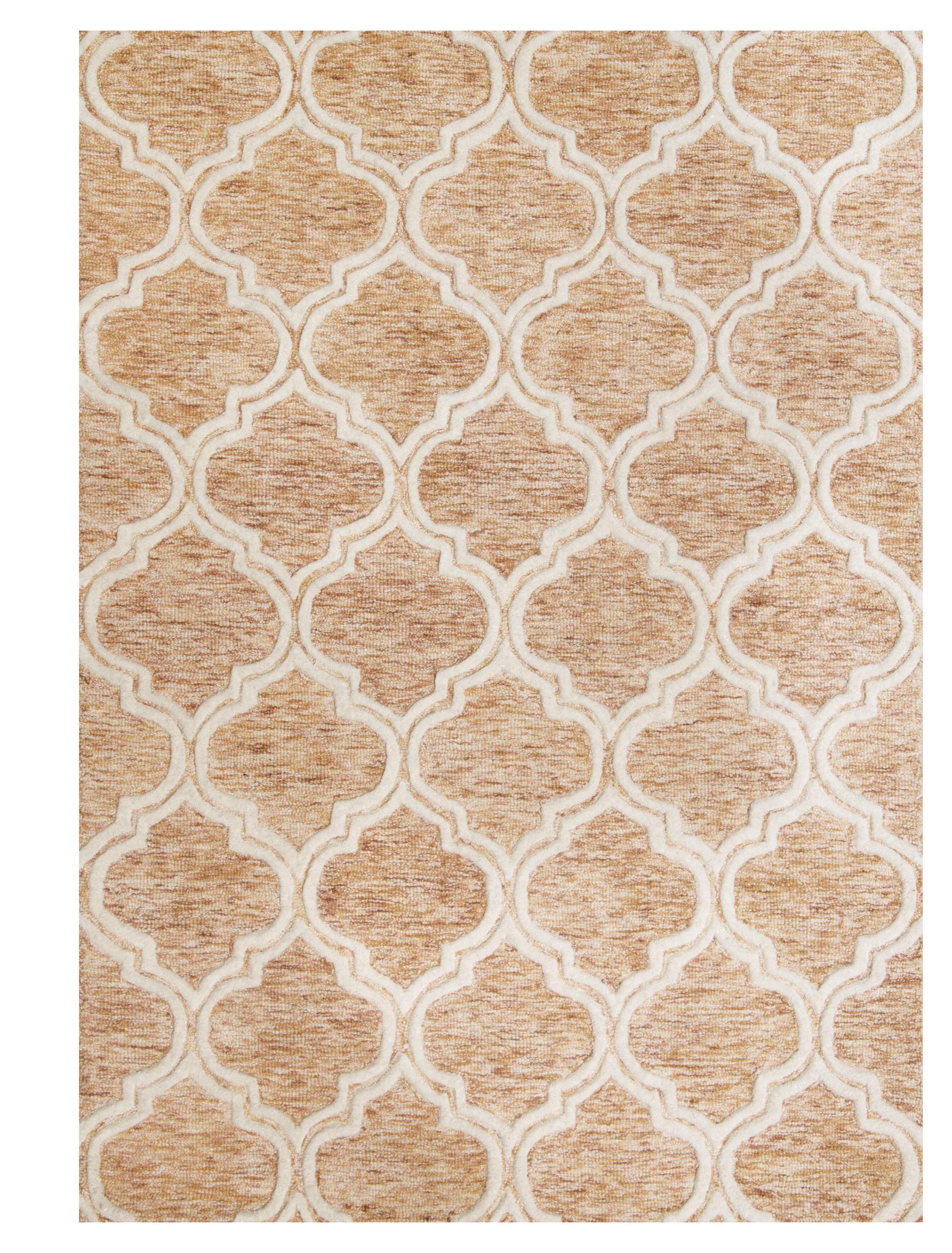 World Menagerie Hornsea Hand Tufted Wool Brown Rug Reviews Wayfair Co Uk