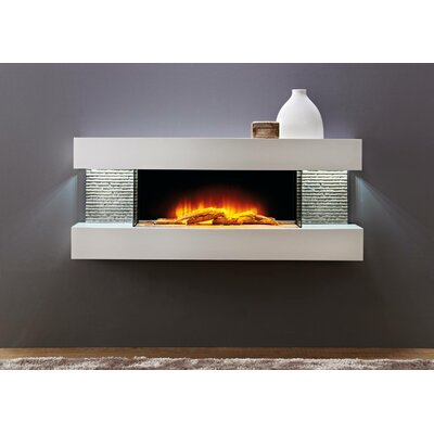 Mahalick Petite Wall Mounted Electric Fireplace Orren Ellis