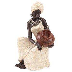 African Woman Figurine