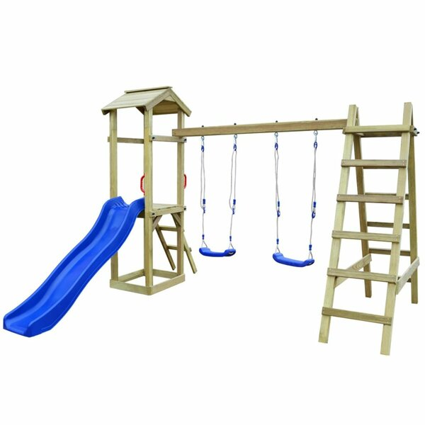 Swing Sets & Swing And Slide Sets | Wayfair.co.uk