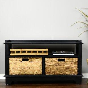 Heather Ann Creations Wood Storage Bench