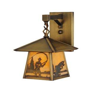 Find 1-Light Outdoor Wall Lantern By Meyda Tiffany