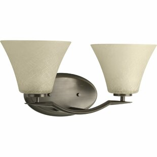 Karla Modern 2-Light Vanity Light by Fleur De Lis Living