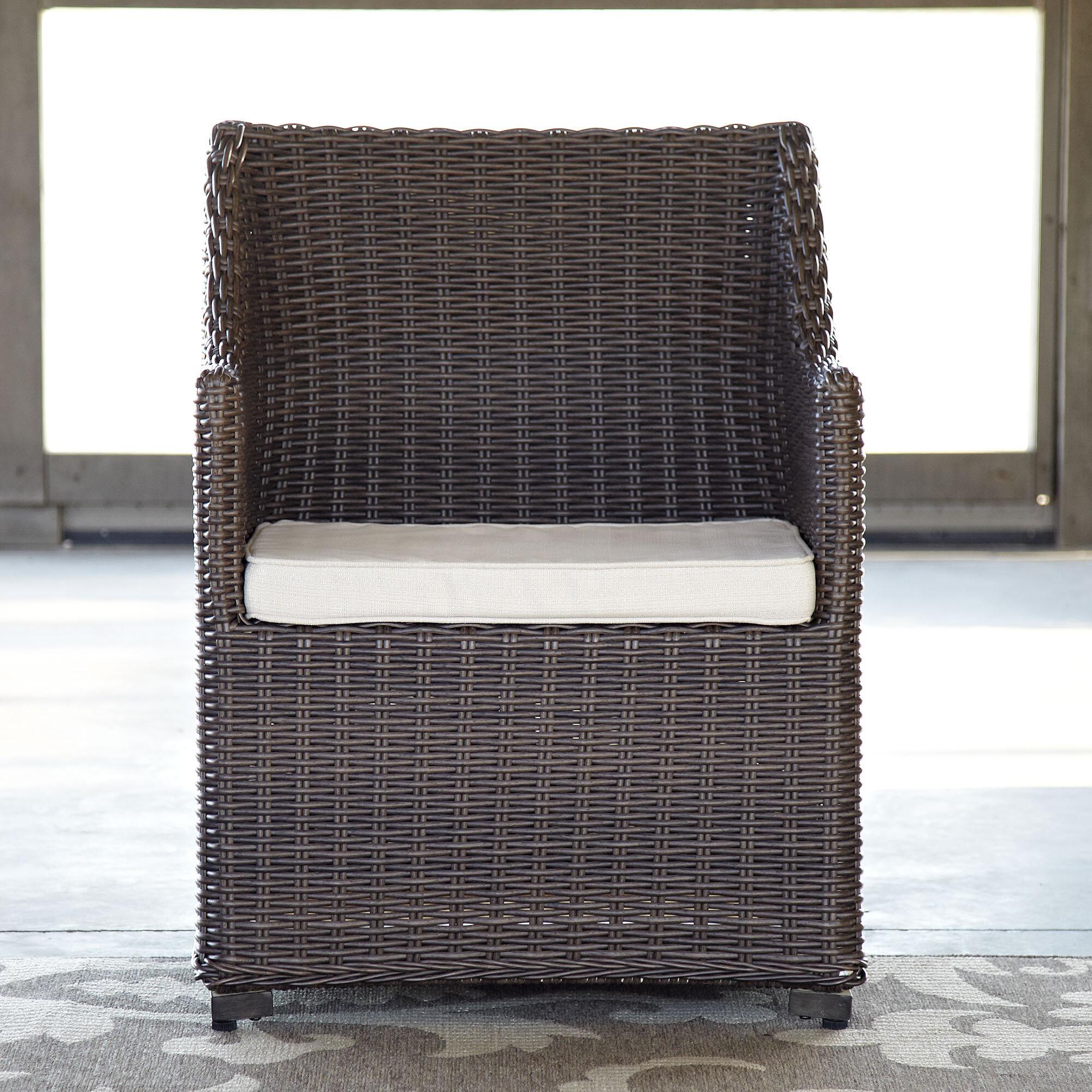 Birch Lane™ Montclair Patio Dining Chair With Cushion U0026 Reviews | Birch Lane
