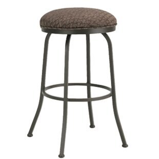 Huebner 26 Swivel Bar Stool Red Barrel Studio