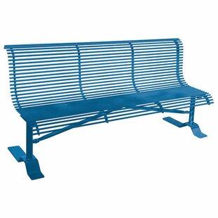 Rod Steel Park Bench