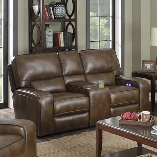 Sydney Reclining Loveseat by E-Motion Fur..