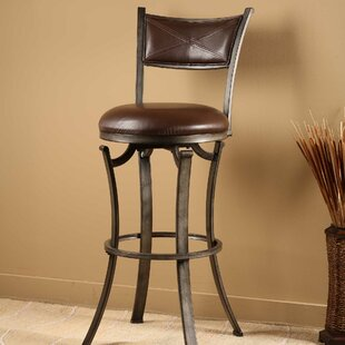 Annandale 26 Swivel Bar Stool World Menagerie