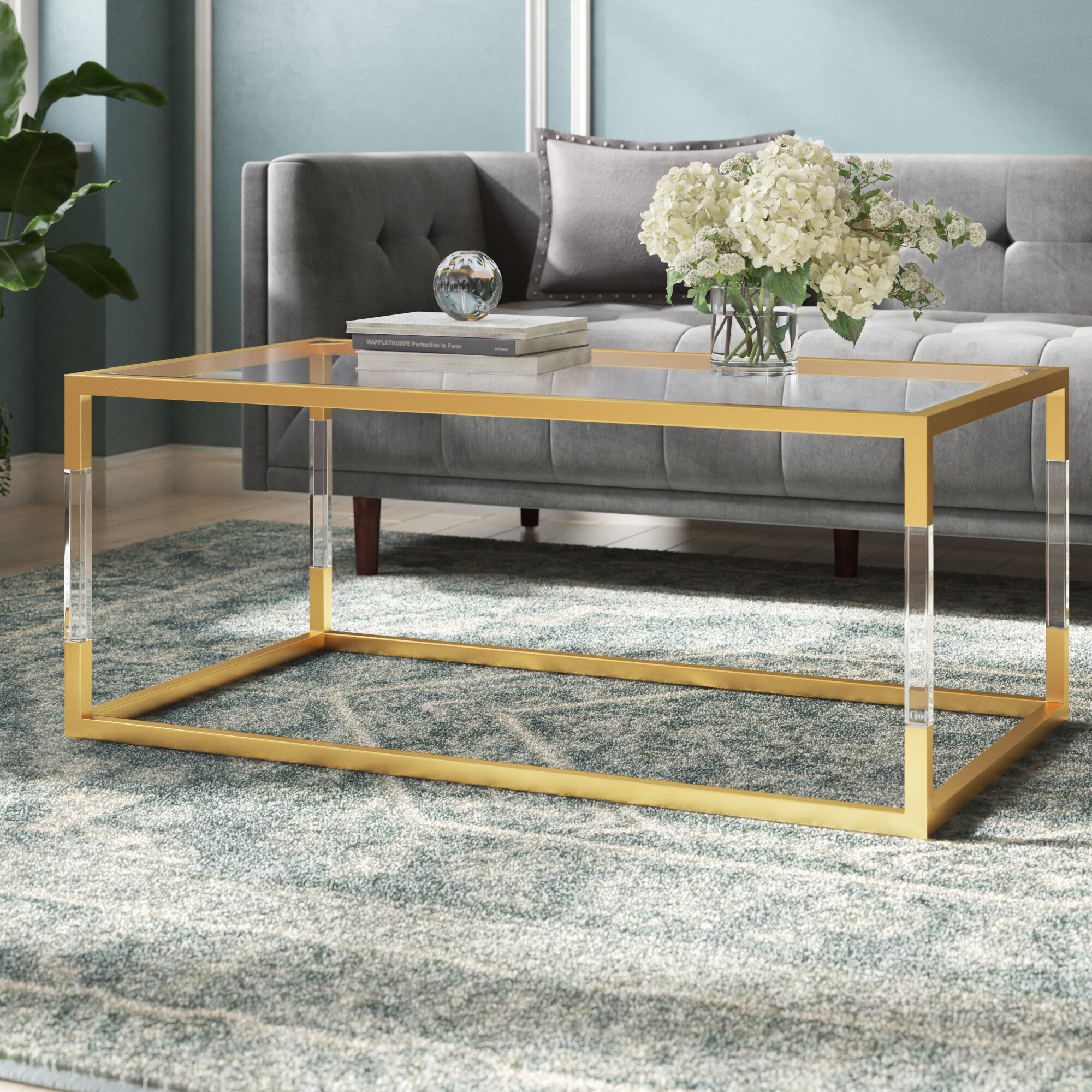 - Mercer41 Honea Sled Coffee Table & Reviews Wayfair