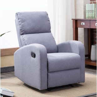 Bayerl Contemporary Push Button Recliner Ebern Designs
