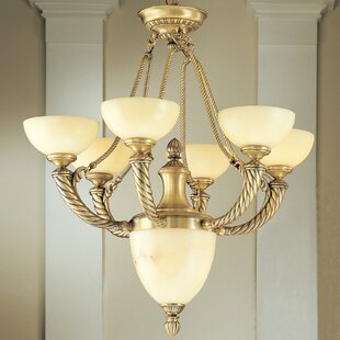 Classic Lighting Alhambra 7-Light Shaded Chandelier