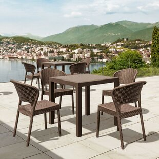 Brayden Studio Ketterman 5 Piece Dining Set