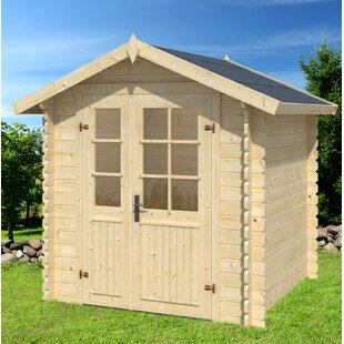 6.2 Ft. W X 6.2 Ft. D Tongue & Groove Steep Slope Wood Garden Shed By Sol 72 Outdoor