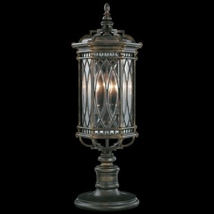 Check Prices Warwickshire Outdoor 3-Light Pier Mount Light By Fine Art Lamps