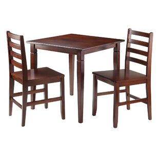 Red Barrel Studio Hemphill 3 Piece Dining Set
