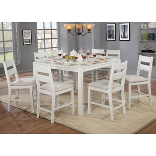 Carrera Gwen 9 Piece Dining Set by August Grove