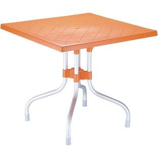 Latitude Run Buerger Square Folding Bistro Table