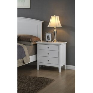 Aguilera 3 Drawer Nightstand