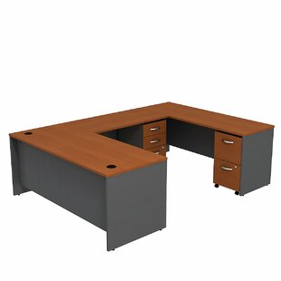 Bush Business Furniture Series C U-Shape Executive Desk