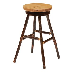 Hickory 30 Swivel Bar Stool Fireside Lodge