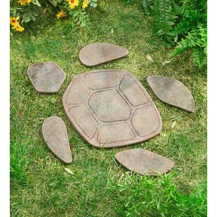 Turtle Garden Stepping Stone
