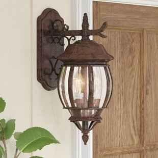 Gillian 3-Light Outdoor Wall Lantern by Sol 72 Outdoor
