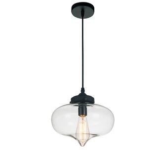 CWI Lighting 1-Light Schoo..