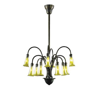 Astoria Grand Perez 12-Light Shaded Chandelier