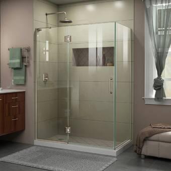Aston Bromley Gs 48 X 72 Rectangle Hinged Shower Enclosure Wayfair
