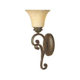 Order Mendocino 1-Light Wall Sconce By Designers Fountain