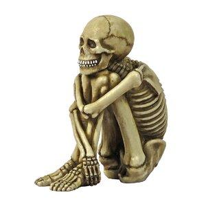 Mr. Bone Jangles Skeleton Sitter Statue