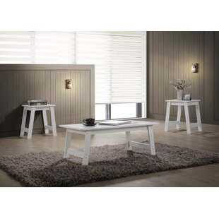 Halethorpe 3 Piece Coffee Table Set Winston Porter