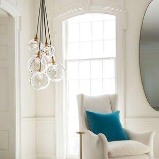 Skye Indoor 6-Light Cluster Chandelier by Hinkley Lighting