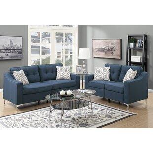 Sebastian 2 Piece Living Room Set by Mercer41