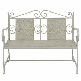 Cyroselle Steel Bench By Fleur De Lis Living