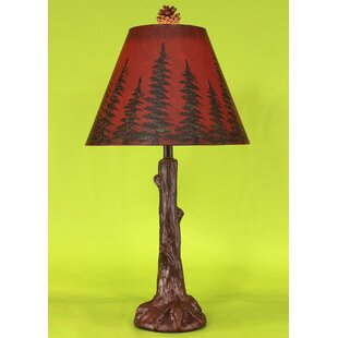 Budget Rustic Living Tree Trunk 27 Table Lamp By Coast Lamp Mfg.