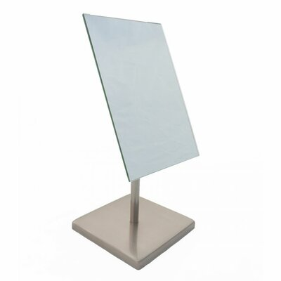 Find The Perfect Nickel Rectangle Makeup Amp Shaving Mirrors