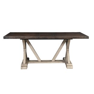 Farmhouse Counter Height Extendable Dining Table