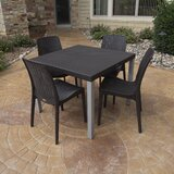 Loggins 5 Piece Dining Set