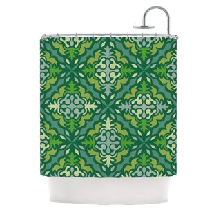 KESS InHouse Yulenique Shower Curtain