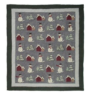 The Holiday Aisle Delano Snowman Quilt