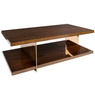 Tinsman Coffee Table with Tray Top