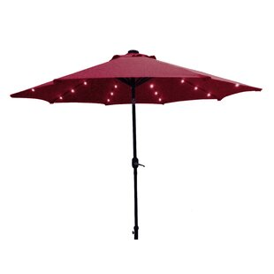 Bay Isle Home Solar 9' Market Umbrella
