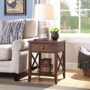 Ziegler End Table with Storage by Loon Peak