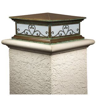 Shelva Window Sixteen Shallow Column 2-Light Pier Mount Light by Fleur De Lis Living