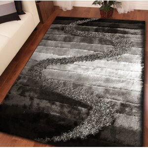 Rosas Hand Tufted Gray Area Rug