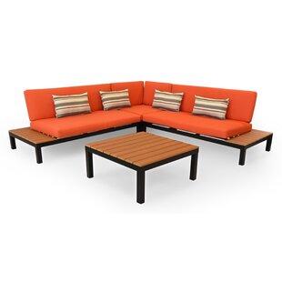 Pleasing Burnt Orange Patio Furniture Wayfair Ca Download Free Architecture Designs Momecebritishbridgeorg