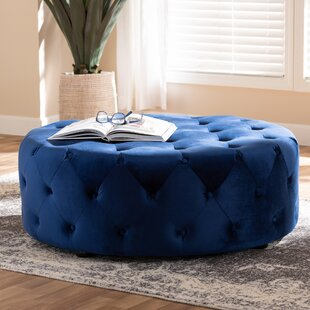 Capone Tufted Cocktail Ottoman