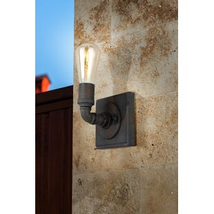 Dessert 1-Light Armed Sconce by 17 Stories